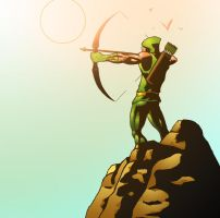 Green Arrow - Joaquin by HectorBarrientos