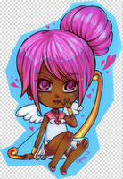 Gift art: Sailor Cupid by Chama