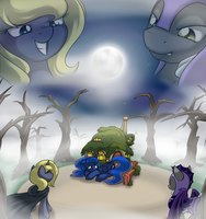 Hunted Luna: Nowhere to hide... by Poinger