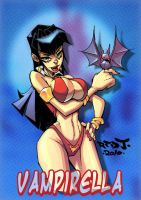 OC2 sketch 12 :: Vampirella by Red-J