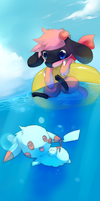 ocean fun by Poketix