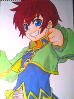 Asbel Lhant (1st marker attempt) by ArtArtzy