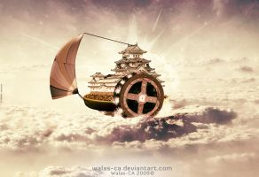 Ship Of The Sky by Walas-CA