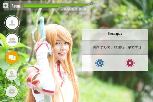Welcome to SWORD ART ONLINE ! by ChenJinZhou