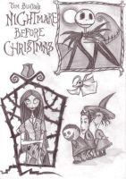 The Nightmare Before Christmas by GabrielleGrotte