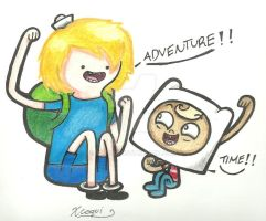 Misadventure Time? by Xcoqui