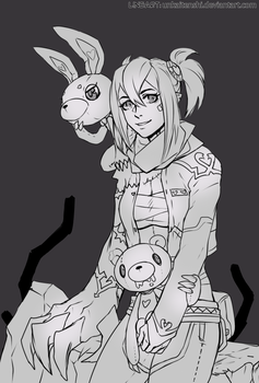 [FREE FOR COLORING] Wild Toys Hunter by Expie-OC
