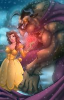Beauty And The Beast by Kyle-Fast