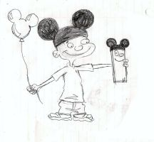 85 Years of Mickey Mouse - Jonny 2x4 and Plank by TrefRex