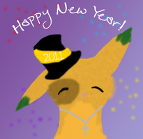 Happy New year 2011 by Kitty61553