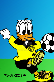 Football Player by Quackmore