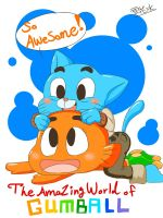 Gumball and Darwin. by XueHuaPing