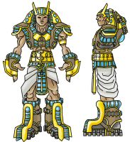 Unreal Egyptian Concept Art by Art-by-Smitty