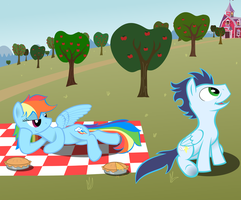 Apple Orchard Intrusion by Rebron-y