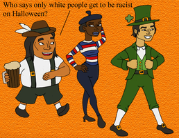 How People of Color Celebrate Halloween by BrandonSPilcher