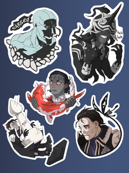 DGM stickers by Asp666