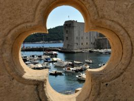 Dubrovnik Old Port obserrved 1 by wildplaces