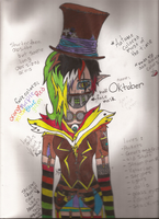 Colored Oktober (Fucked up bad x-x) by Dysfunctional-H0rr0r