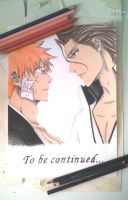 Bleach - Ichigo vs Aizen by mangaslover