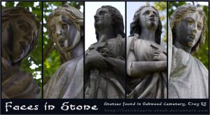 Faces in Stone by fetishfaerie-stock