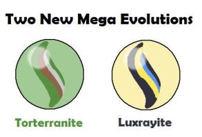 Two New Mega Evolutions by MCsaurus
