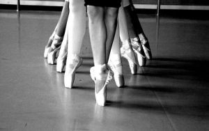 ballet shoes by TheLittleSwan