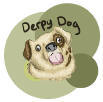 Derpy Dog by TamHorse