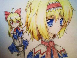 Alice Margatroid by LoveTouhou