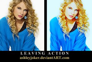 Leaving Action by AshleyJoker