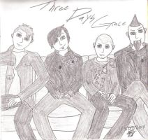 Three Days Grace 8D by BloodRose19000