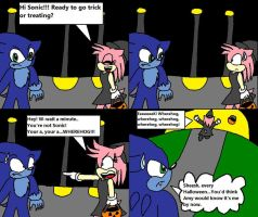 WhereSonic Halloween comic by Emily-Young