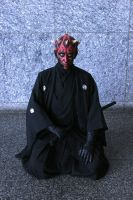 'Samurai' Darth Maul by iheartsendai