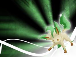 Leafeon Wallpaper 1280x960 by MattRiddle