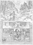 Van Helsing Vs. Jack the Ripper p.1pencil by BillReinhold