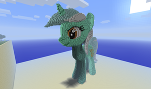 3D Minecraft Lyra by Felix-KoT