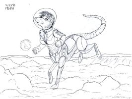 WIP: Moon Romp sketch by DataPacRat