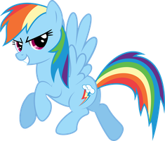 Rainbow Dash knows that she's awesome by Fehlung