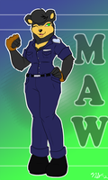 Maw the Sun Bear -CM- by Ulta