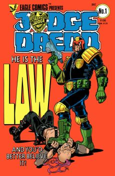 Judge Dredd Colored by angryrooster