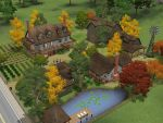 Sims 3 Colonial Farm House by RamboRocky
