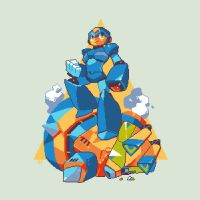 Megaman X by InakiShinrou