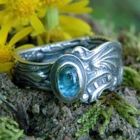 Upcycled Silver Spoon Ring 2 by metalsmitten