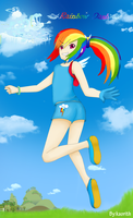 Rainbow Dash by Kaorith