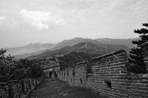 The Great Wall of China by stinebamse