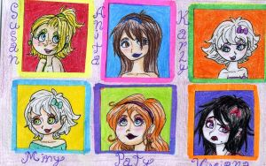 htf- my OCs in human form by tonoly21