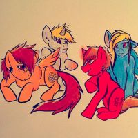 PONIES. by ForrestFoxes