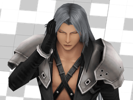 Sephiroth - Just a Project 3 [Final Fantasy VII] by Shin-Orojin