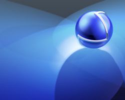Blue Sphere by Warma
