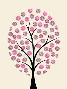 Pink Tree by Proudmoon