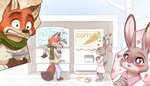 There She Is!! x Zootopia by MykeGreywolf